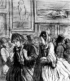 This Year Venuses Again... Always Venuses!Honoré Daumier, no. 2 from series in Le Charivati, 1864