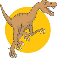 Allosaurus Image provided by  Classroom Clipart (http://classroomclipart.com)